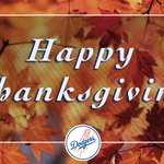 Happy Thanksgiving, #DodgerFam! https://t.co/CSWCFaryWq
