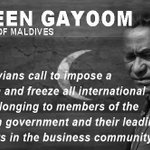 #Maldives #SOSMV #freeAllPoliticalDetainees #FreePresidentNasheed #Minjuvaan https://t.co/fJyx3Ryut2