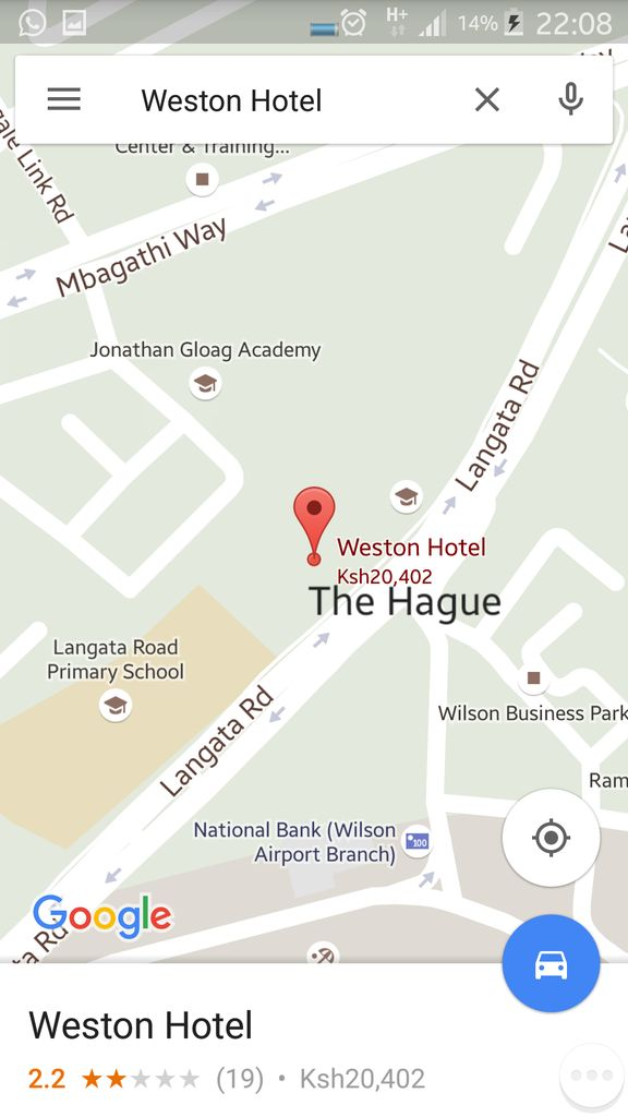 The matatu stage outside Weston Hotel, Langata Rd is now referred to as The Hague https://t.co/K6Tf2vM8j5