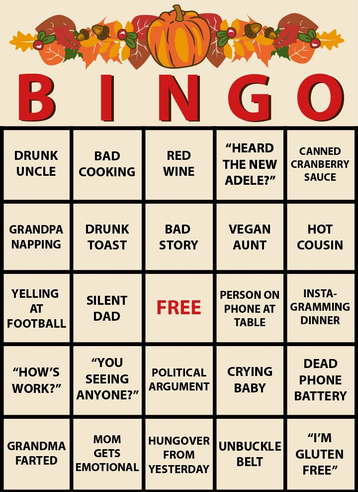 bingo at home game