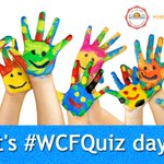 Its #WCFQuiz day! Stay tuned at for the 6 PM question of the week! Dont forget to use the hashtag #Ivolunteer4wcf! https://t.co/tt8KsmCNug