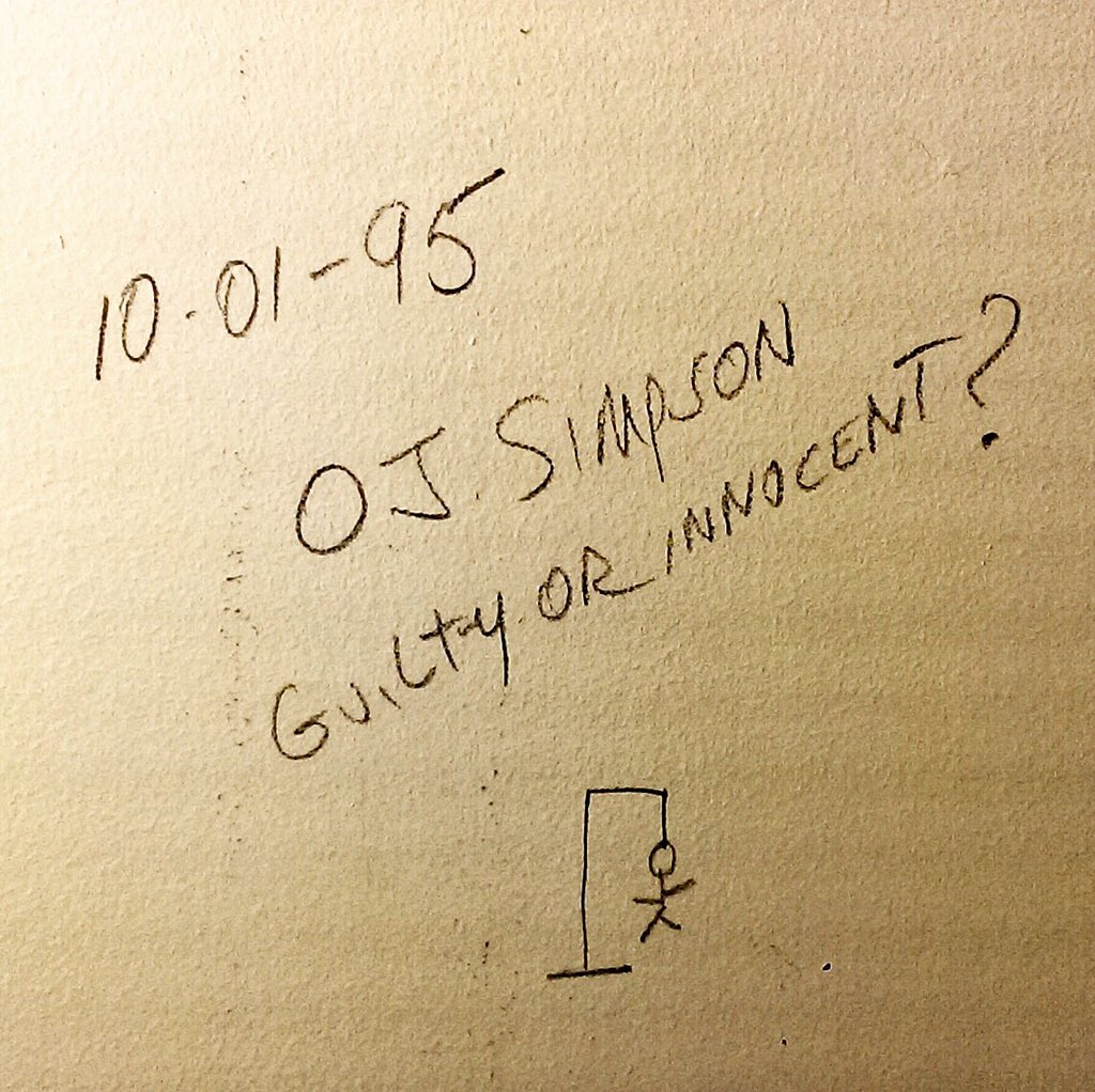 So, my parents remodeled the bathroom and found this written on the ...