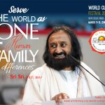Serve the world as one human family with differences ~ @SriSri  Visit: https://t.co/h4rXCxS9cr to #Ivolunteer4wcf https://t.co/BLMgsphlrD