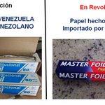 Venezuela producía su propio Papel Aluminio (Alcasa Foil) ahora lo importa desde China #PSUVRuinaDeVzla https://t.co/gq3gUtHGwq
