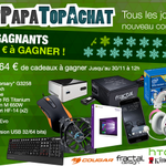 Concours #PetitPapaTopAchat   Go pour le #lot2 à 1664 € !  Pour participer, RT + Follow @TopAchat :-) https://t.co/yEXFpz7SmO