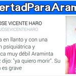 ARAMINTA GONZALEZ SECUESTRADA X TIRANIA d #Venezuela SIN AUDIENCIA PRELIMINAR NI JUICIO!#LibertadParaAraminta #26Nov https://t.co/ZmYPLk6aGj