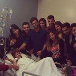 هكذا كانت أجواء الاطمئنان على سلامة  @SuhilaBnLachhab في المستشفى #StaracArabia #Starac24 https://t.co/pi0msTUvdn