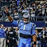 Cam Newton in the @usnikefootball #ColorRush ???? https://t.co/UnJRdMqxaU