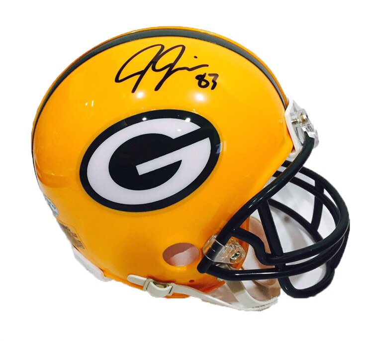 For a chance to win this Jeff Janis signed mini helmet, retweet THIS tweet, follow me, & follow @lotfautographs https://t.co/jCegqq8o3g