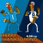 .@CameronNewton and the @Panthers. @tonyromo and the @dallascowboys. Lets GO. #CARvsDAL #HappyThanksgiving https://t.co/BszwgOjCxO