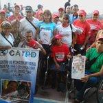 Hombres y mujeres con discapacidad quiero felicitarlos a tod@s por su lucha, ustedes tienen mi apoyo siempre! https://t.co/GadBoBFRYa