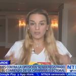 """""""Responsabilizo directamente a Nicolás Maduro por estos hechos violentos"""": Lilian Tintori https://t.co/frMSZOOx53 https://t.co/SYtXSgS07Z"""