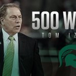 Michigan States Tom Izzo wins his 500th career game  8th D-I coach with 500 wins in first 21 seasons https://t.co/a6qjxLGZxs