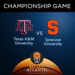 The #Battle4Atlantis Championship game is set! @AggieMensHoops & @Cuse_MBB battle at 3:00 PM ET tomorrow on @ESPN! https://t.co/dWdJLfd8nG