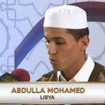 عبدالله شميله من مدينة زليتن يتحصل على الترتيب الأول في مسابقة البحرين الدوليه لحفظ القرآن الكريم. #ليبيا https://t.co/virNYC7UQg