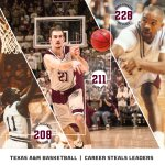 ICYMI: @ACFresh21 moved into 2nd on A&Ms all-time steals list at 211 #12thMan #AggieHoops https://t.co/uGFF8K5itH