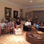 This is how the Shula family does #Thanksgiving when the @Panthers are on! https://t.co/ElpCJEHvxF