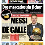 Messi Balón de Oro de Calle #portada #deportes https://t.co/H6YjKvvO3o https://t.co/sW8ApzHzYG