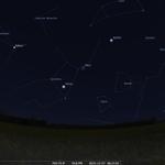 Wer wie in #Hannover klaren Himmel hat, kann nun im Südosten #Venus, #Mars und #Jupiter um die Wette leuchten sehen https://t.co/VrGmuF8uNJ