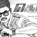My #sketch of @actorvijay ❤ #Theri Hw is it..? @Atlee_dir https://t.co/LE8f0O6GEf
