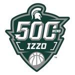 Congratulations to Coach Tom Izzo on his 500th win! #GoGreen #ReachHigher 🏀💚 https://t.co/uNjZJWRXv5