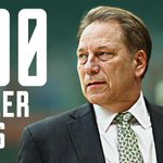 Number 500 for Tom Izzo! He becomes just the 8th Division-1 coach to reach 500 wins in his 1st 21 seasons. https://t.co/vuIoVX8TLL