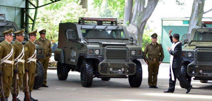 En meses pasamos del perdón de  Huenchumilla a los jeeps blindados bendecidos por el cura. Qué cosa más triste. https://t.co/CZRnlADJO9