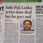 #NoCricketWithPakistan Sir @narendramodi will congressi Rajiv Shukla now dictate terms to a elected govt of 282? https://t.co/oplkRt42An