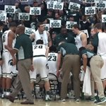 SrtaShook: RT MSUAD: It is nights like this that lead to a night at the Hoophall - Congrats to Coach Tom Izzo on h… https://t.co/DlvTCi3hc3