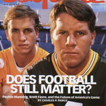 Peyton & Favre on the cover of Esquire in September 1997 https://t.co/afVHwo24Zb