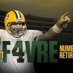Brett Favres number retired by the Packers A look back at Favres career in Green Bay: https://t.co/PjRJ0LtPJ8 https://t.co/Rkvxf22giA