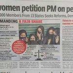 Muslim Women Petition PM 4Personal Law Reforms! @BDUTT @sardesairajdeep @RanaAyyub Gang Disappointed! Modi Only Hope https://t.co/UM3xhekmQB