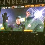 Bart Starr and Brett Favre together again at Lambeau Field. https://t.co/tBJNWJUasp https://t.co/lA9GMDNupE