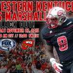 All on the line on Black Friday! Tomorrow morning its #Showtime for the C-USA East Division Championship! #GoTOPS! https://t.co/jR00BJHGQT