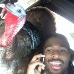 ICYMI: DeAngelo Williams took a selfie with a turkey in a car because, ya know, Thanksgiving https://t.co/iWVszxMuzm https://t.co/Qw7AeqPDKh