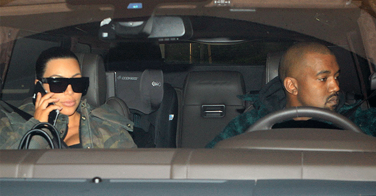 Kim and Kanye made time to visit Lamar Odom in the hospital before Thanksgiving dinner ❤️