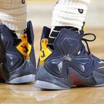 SHOE ALERT: @KingJames recently wore these sick LeBron 13s! #CopOrDrop? https://t.co/4OEjwLnM2G