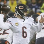 Jay Cutler was 1-11 as a Bears starter vs GB and threw at least 1 INT in each game. Tonight he threw zero and won. https://t.co/X4Gj6GFLHM