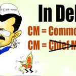 #AAPforPeople bcoz Delhi is governed by a man who is just like us... For Delhi, CM = Common Man https://t.co/Z9RcNGLJQT