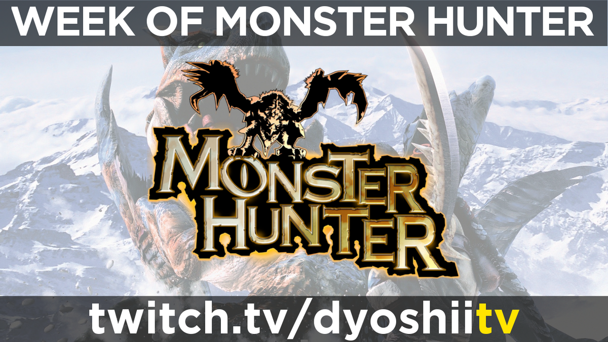 Day 5 of WEEK OF MONHAN starts, with Monster Hunter 1 on the PS2, the original! Watch NOW @ https://t.co/Tm67JcLn2z https://t.co/GdylEM7IrB