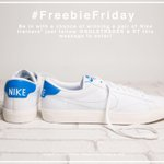 FOLLOW & RT to be in with a chance of winning a pair of @Nike trainers >> https://t.co/A4wCKZ8EKg #FreebieFriday https://t.co/C7JG8AsOlH