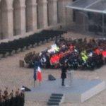 """Discours de @fhollande : """" cest parce quils étaient la liberté quils ont été massacrés"""" https://t.co/EeuCoN9CFg"""
