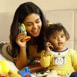 A nice pic of #BinduMadhavi with a cute kid in #Pasanga2 https://t.co/Upc0eNdc7m