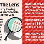 Indian Overseas Banks Rs 3,000 crore #loans cleared in H1 under finance ministry scanner https://t.co/KSCM4nF8hS https://t.co/vUw6Tg6lOx