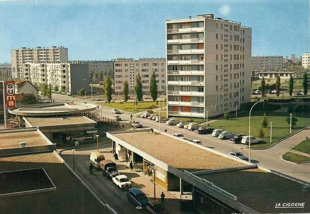Un jour, une zup, une carte postale merisiers (aulnay sous bois) scoopnest com # Carte Grise Aulnay Sous Bois