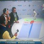 RT @Sanjog_G: Nice analysis of Jadeja's bowling in the commentary box @starsportsindia https://t.co/S1hFQgOEEu