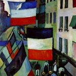 La rue pavoisée, 1906, Raoul Dufy #hommagenational #HommageAuxVictimes https://t.co/TOa0JWDeZD