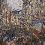 La Rue Montorgueil, à Paris, Claude Monet #hommagenational #HommageAuxVictimes #enmémoire https://t.co/PnwsInHDFu