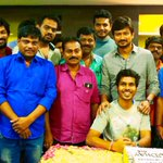 With my #gethu team who made today v special for me! Rocking response for the trailer! Thx to all???????? https://t.co/Fo9KWGPOMm