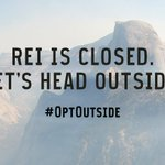 Weve chosen to #OptOutside today. See you out there! https://t.co/4E6PgtoCnn